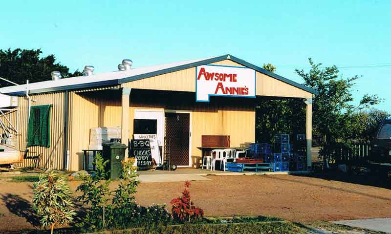 Forretningen Awsome Annie's