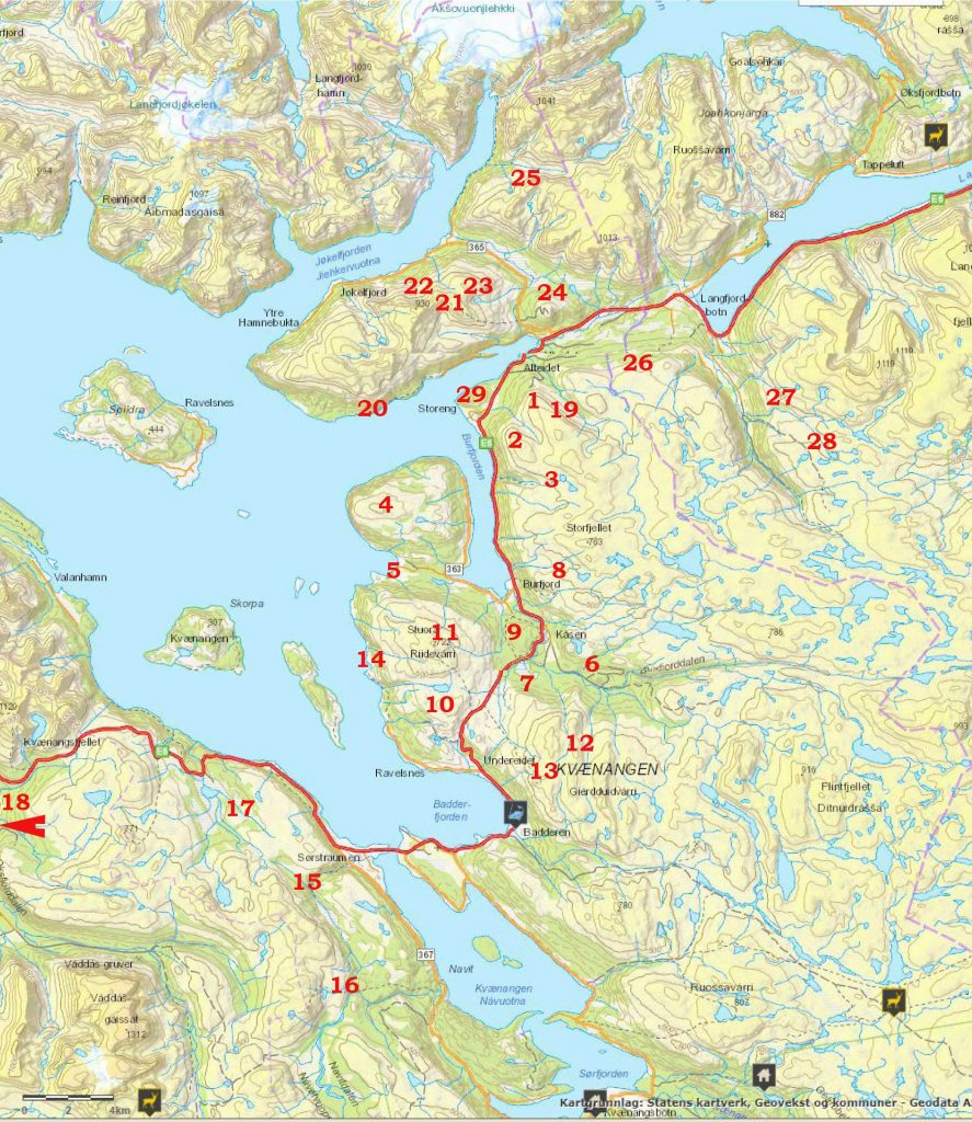 Vandreture I Nordnorge Sommeren 2018 Hold Pulsen Oppe
